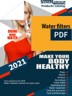 Water filters Profine catalog