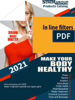 In line filters catalog
