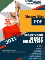 Shower filter catalog