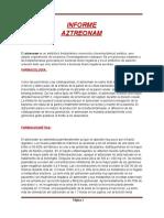 iMFORME DE aZTREONAM