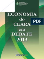 Análise da Demanda Turística pelo Estado do Ceará