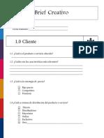 Plantilla Brief Creativo 10.4