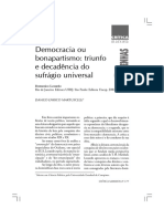 Democracia Ou Bonapartismo Triunfo e Dec