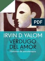 Yalom Irvin - Verdugo Del Amor