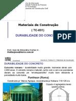 Aula 02 - Durabilidade concreto (147 slides)