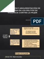 Valoración y Argumentación de La Prueba en Los Delitos Contra La Mujer - Hugo Butron