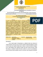 Revista Archivos de Criminología, Seguridad Privada y Criminalística