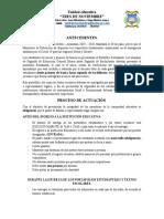 PROTOCOLO ENTREGA DE PORTAFOLIO