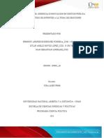 Trabajo Colaborativo Oganizaciones Grupo 109002-36 Fase 2-1