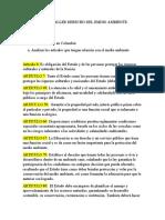 PRIMER TALLER DERECHO DEL EMDIO AMBIENTE