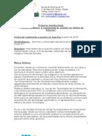 """Proyecto Institucional """"Comunicandonos y conociendo la ciudad con Ositos de peluche"""""""