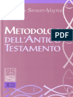 [Studi Biblici 25] Horacio Simian-Yofre (Editor) - Metodologia Dell'Antico Testamento (2009, EDB) - Libgen.li