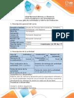 Guía de actividades y rúbrica de evaluación - Paso 5 - Plan de marketing que incluya los métodos de control