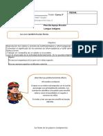 Guía 2 Lengua Indígena Fiesta de Aves 3ro Básico