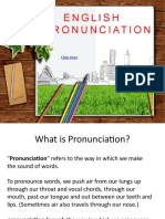 Pronunciation - Meeting I