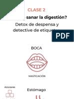 Clase 2 - Por qué digestión y detox de despensa