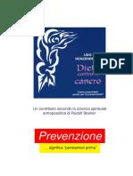 Udo Renzenbrink. Dieta contro il cancro. [secondo la scienza antroposofica di Rudolf Steiner] -- EdizioniPDF