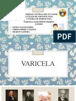 Expo Varicela, Herpes Z y Sarampión