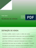 UFCD 4365 - Técnicas de Venda