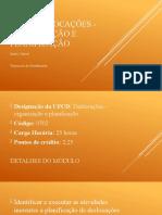 Apresentação - 0702 - Deslocações - organização e planificação