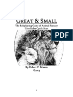 Great & Small Animal FRPG