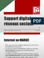 Support digital Présentation