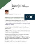 Entrevista a Fernando Buen Abad Dominguez