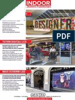 Sistemi Pubblicitari rotanti per pubblicità indoor e outdoor