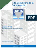 IERIC Informe Coyuntura Construcción Nº 185