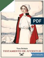 Testamento de juventud - Vera Brittain