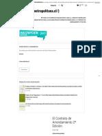 El Contrato de Arrendamiento 2ª Edición – Editorial Metropolitana