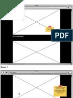 Portfolio layout options