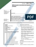 NBR 11768_1992 - Aditivos para Concreto de Cimento Portland