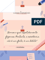 Classes Gramaticais (2)