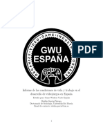 Informe de las condiciones de vida y trabajo en el desarrollo de videojuegos en España
