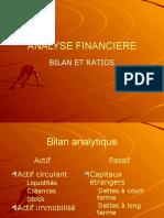 Analyse Financiere Bilan Ratios