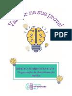 DICA (30 de dez 2020) - DIREITO ADMINISTRATIVO - Organização da adm. pub (1)