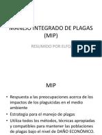 CLASE 14. MANEJO INTEGRADO DE PLAGAS