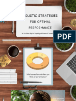 holistic strategies for optimal performance- gibsone  2021
