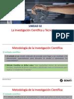 Unidad 02 Metodología de La Investigación Científica e Investigación Tecnológica