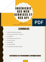 Cours Services Web APIs Programmation Ditribuee