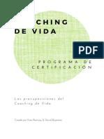 2 Certificado de Coaching de Vida Las Presuposiciones Del Coaching de Vida