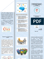 Práctica de Psicopatología - Triptico -