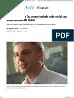 Brasil - Bolsa - 080221 - Caso GameStop faz gestor incluir rede social em mapeamento de riscos Finanças Valor Econômico