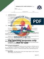 Las-worksheet - No. 2 Edited