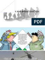 Wars and armed conflicts