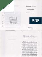 ADORNO, Theodor W. O Fetichismo na Música e a Regressão da Audição - Parte 1