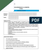 Guía 1, 2, 3  y  evaluaciòn 1 de Matemática II semestre
