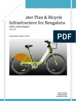 NMT Master Plan & Bicycle Infrastructure for Bengaluru