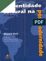 TEXTO 10 - A Identidade Cultural Na Pós-modernidade by Stuart Hall (Z-lib.org)
